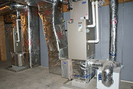 forced hot air furnace repairs in brownsville ny